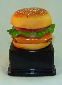 new Corporate Award Recognition Trophy Food Cheeseburger