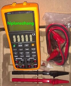 V ma Frequency Pulse Multifunction Loop Process Calibrator Multimeter Vc15
