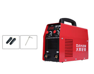 220v Mini Dc Inverter Mma Welder Household Electric Welding Machine Zx7 200 New