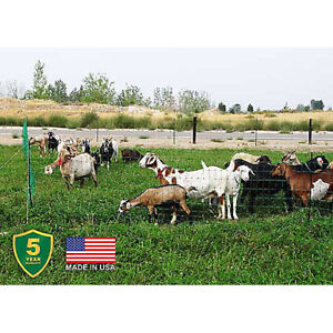 Powerfields Electric Poultry And Goat Netting Green