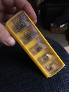 Qty 5 Kennametal Ng4189rk Kc730 Top Notch Tool Holder Grooving Carbide Inserts