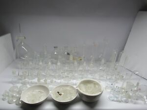 Chemistry Lab Glassware Huge Lot