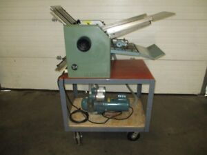 Baum 714 Air Feed Folder max Paper Size 14 X 20