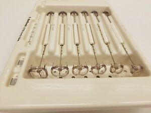 Medtronic Mosaic Ultra Hancock Ii Ultra Aortic Valve Sizers Sterilizer Inv 4501