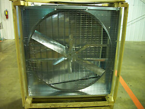 Dayton 4b052f 36 Slantwall Exhaust Fan 115 230v 10 659cfm