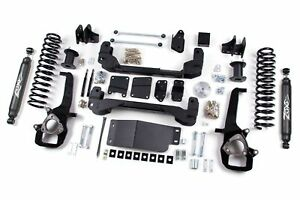 Zone Offroad 6 Inch Suspension Lift Kit 2011 Dodge Ram 1500 4wd D2n