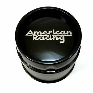American Racing Black Center Cap 5 6l Vna69 Ansen Sprint Ar23 Ar767 Ar901 Ar910