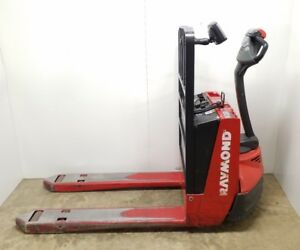 Raymond 102t f45l Electric Pallet Jack 4500 Lb Lift Capacity W Iwarehouse 24v