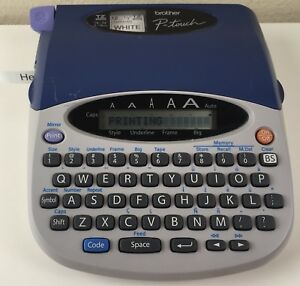 Brother P touch Pt 1750 Electronic Labeling System Label Maker Printer