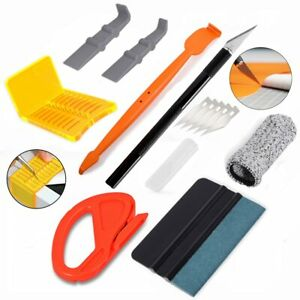 Vinyl Wrap Application Tools 4 Protective Squeegee Knife Blades Glove Tint Kits
