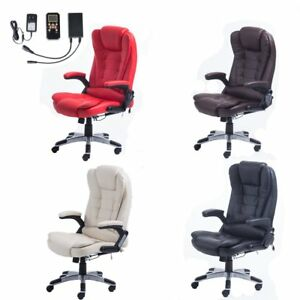 Home Office Computer Racing Massage Chair Executive Ergonomic Vibrating Homexpre