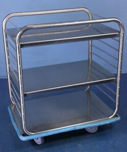 Medical Cart Stainless Steel Hoop Cart Medical Supply Cart With Warranty