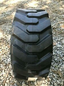 1 New 23x8 5 12 Skid Steer tractor Tire 23x8 50 12 6 Ply for Bobcat