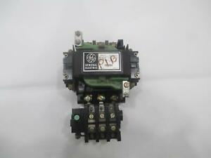 General Electric Ge Cr206d0 Nema Size 2 45a 600v Motor Starter W Relay