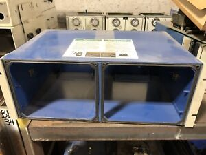 Nordson Versa Spray Rack Mount 2 gun Enclosure