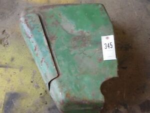 Jd 20 Series Tractor Left Side Hydraulic Cover Panel W Tool Box Tag 345