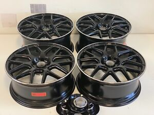 19 19 Inch Mercedes C63 Amg Style Staggered Wheels Rims C E Class Replica New