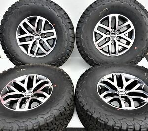 17 Oem Ford Raptor F150 Original Rims Wheels Tires Bfg Ko2 315 70 17 Set 10115