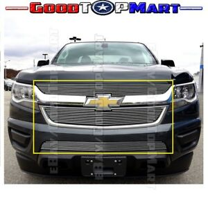 For Chevy Colorado 2015 16 17 2018 Billet Grille Inserts Upper And Bumper