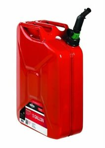 Briggs And Amp Stratton Gas Can Metal Container Storage 5 Gal Smart fill Spout