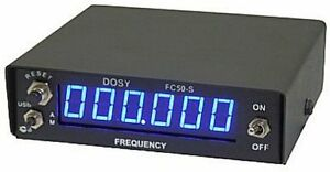 Frequency Counter Dosy Fc50sp 6 Digit Frequency Counter Side Band Use new
