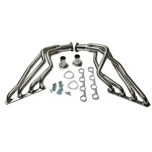 Long Tube Stainles S Exhaust Headers Fit 1964 70 Ford Sb 289 302 351 Windsor Mus