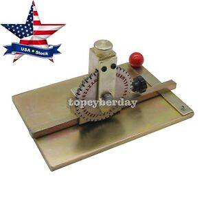 Manual Embossing Stamping Embosser Metal Dog Tag Printer Mark Machine us