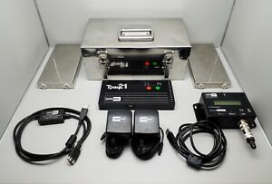 Datapaq Tpaq21 Oven Thermal Profiling System High Accuracy Data Logger Fluke