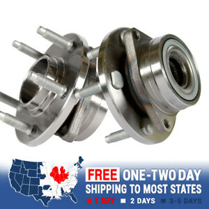 2 Front Wheel Hub Bearing Assembly For Taurus Mercury Sable Lincoln Continental
