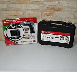 New Whistler Wic 2409c Wireless Inspection Camera W 2 4 Detachable Color Lcd