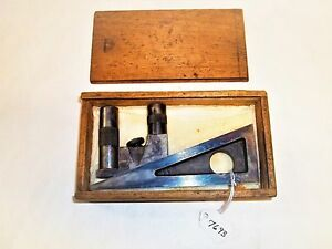 Planer Shaper Gauge Vintage Starrett No 246 Planer Shaper Gage With Extensions