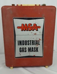 Msa Safety Industrial Gas Mask Mine