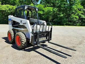 48 Powder Coated Pallet Forks Quick Attach Skid Steer Bobcat Local Pick Up