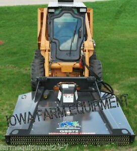 Bradco Gss72 72 Ground Shark Brush Cutter skid Steer Mower cut 4 15 25gpm s