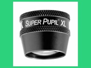 Volk Superpupil Xl Non Contact Slit Lamp Lens In Case Free Shipping