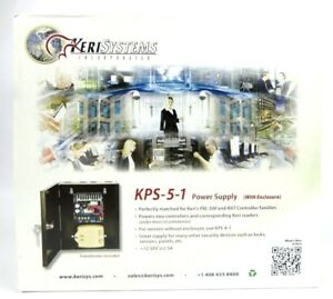 Keri Systems Kps 5 1 Power Supply 12vdc 2 5a Battery Ready