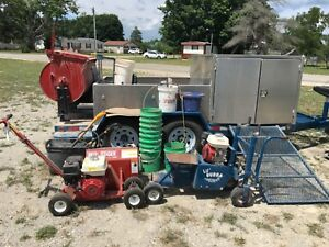 Lil Bubba Concrete Curb Machine Trailer Equipment Package