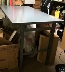 Uline Steel Work Table 36 X 72