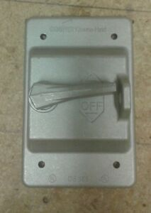 Crouse hinds Explosion Proof Switch Cover