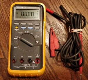 Fluke 88 Automotive Multimeter With Leads