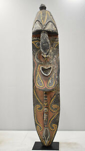 Papua New Guinea Mask Old Yena Yam Ceremony Maprik Tribe 44