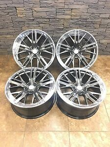 20 20 Inch Oem Replacement Hyper Black Chevrolet Camaro Zl1 Wheels Rims 4set