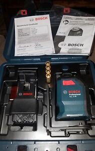 Bosch Gll 2 20 Professional 360 Degree Self leveling Line Cross Laser In Case
