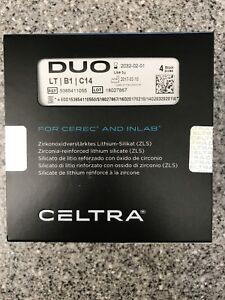 Celtra Duo For Cerec And Inlab Blocks Shade Lt B1 c14
