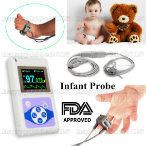 Infant neonatal Pulse Oximeter Pr Animal Tongue Ear Spo2 Probe software