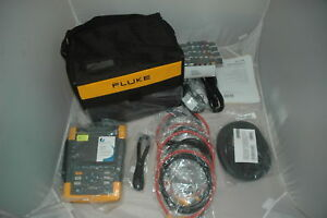 2pcs Fluke 435 ii Power Quality And Energy Analyzer New Complete Set With Probes