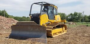 2017 John Deere 850k Lgp Dozer Only 51 Hrs Ripper Vpat Loaded