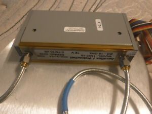 Aeroflex Weinschel Inc Programmable Step Attenuator 18 Ghz 0 70 Db 150t 70