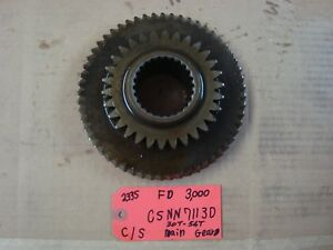 Ford 3000 Tractor Used Trans C shaft Main Gear 30t 56t Ref Part C5nn7113d