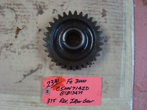 Ford 3000 Tractor Used Trans Reverse Idler Gear 31t Ref C5nn7142d 81813479